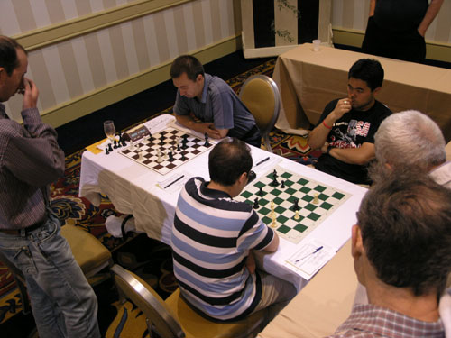 Mikalevski ponders Kamsky's next move while Nakamura-Najer reaches the climatic stage of the 2009 World Open.