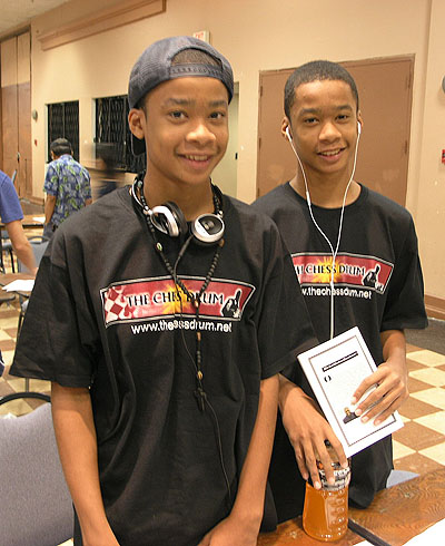 The Bryant Twins Photo by Daaim Shabazz.