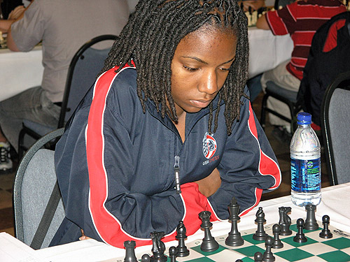 Darrian Robinson at the 2010 World Open. Photo by Daaim Shabazz.