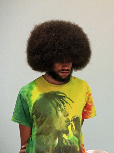 Fear the Fro! Photo by Daaim Shabazz.