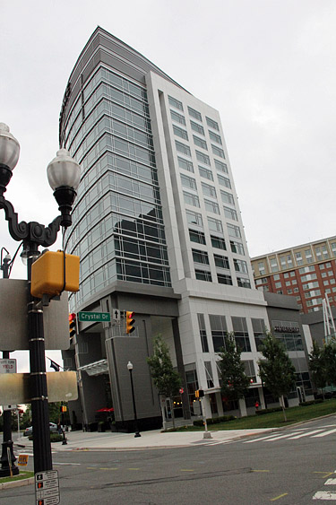 Tour of Crystal City Center. Photo by Daaim Shabazz.