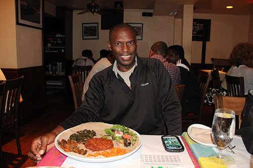 Nothing better than a great meal after chess. You have to feed the body too! Photo by Daaim Shabazz.