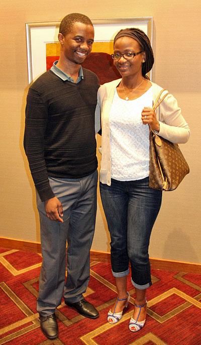 Farai Mandizha and wife Respina Jani-Mandizha. Photo by Daaim Shabazz.