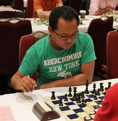 GM Mark Paragua. Photo by Daaim Shabazz.