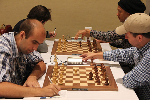 Pairings are up for under-2400! Photo by Daaim Shabazz.