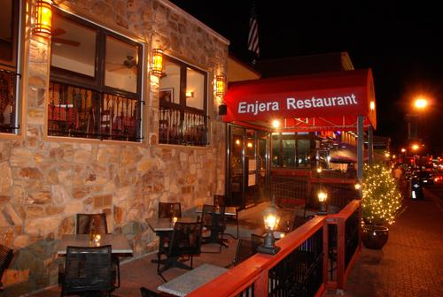 Enjera Restaurant.