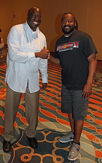 Mario Marshall and James Jeffrey. Photo by Daaim Shabazz.