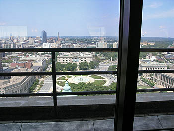 Rooftop view (under-1200 venue). Copyright © 2006, Daaim Shabazz.