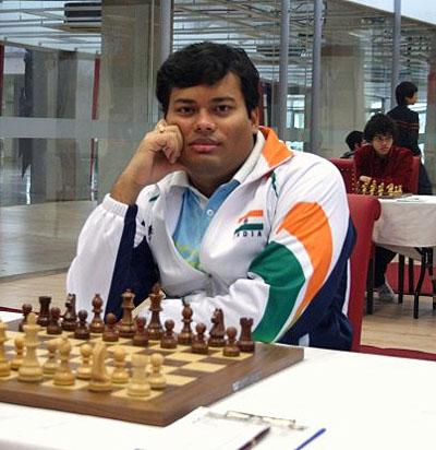 GM Surya Ganguly, Gold Medallist, board #3