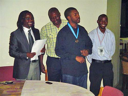IM Robert Gwaze (Zimbabwe) wins gold medal.
