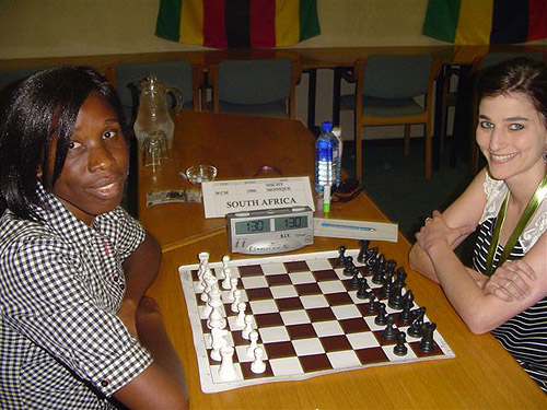 WGM Tuduetso Sabure (Botswana) vs. Monique Sischy (South Africa)