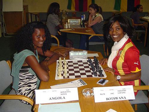 Rosalina Sonia (Angola) vs. Tshepiso Lopang (Botswana)